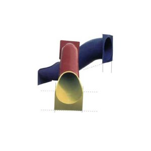 מגלשת צינור מפיברגלס